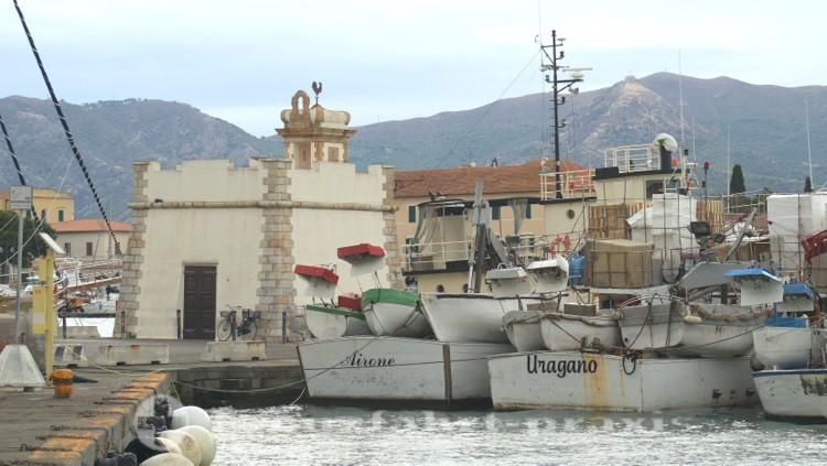 Portoferraio - Molo del Gallo mit Wachturm