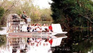 Airboat im Everglades-Nationalpark
