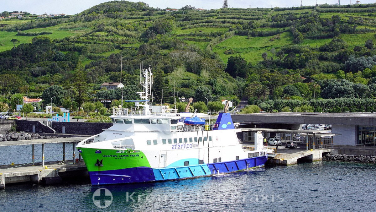 Horta's ferry terminal