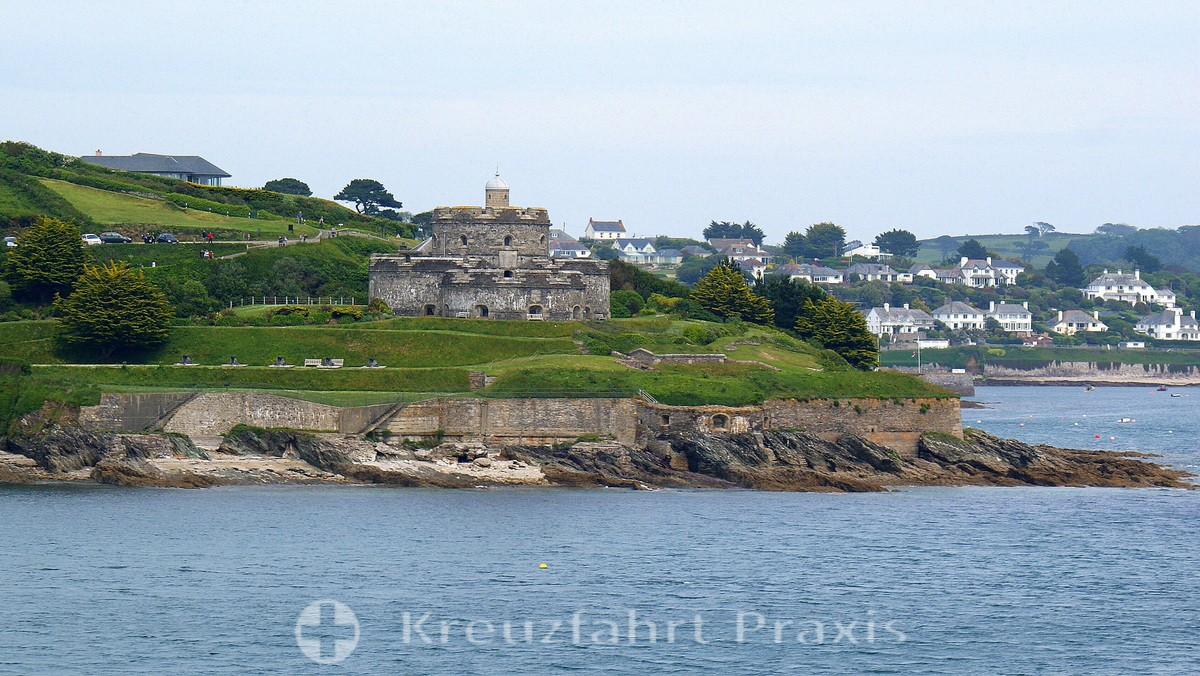 Falmouth - St Mawes Castle