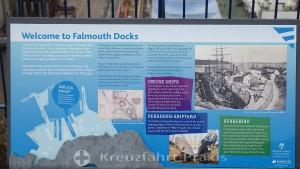 Erläuterungen zum Hafen von Falmouth