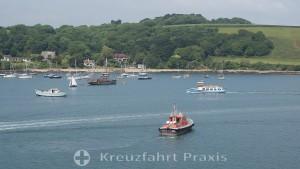 Falmouth - das Lotsenboot wartet
