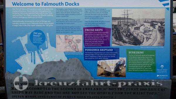 Nützliche Erläuterungen zum Hafen Falmouth