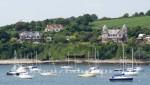 Falmouth - Häuser am gegenüberliegenden Ufer