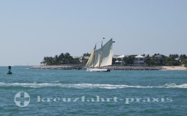 Florida Keys - Segler vor Key West