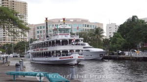 Fort Lauderdale - New River mit der Jungle Queen IV