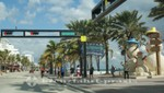 Fort Lauderdale - Abzweig Atlantic/Las Olas Boulevard