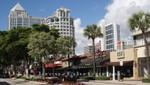 Fort Lauderdale - Geschäftshäuser am Las Olas Boulevard
