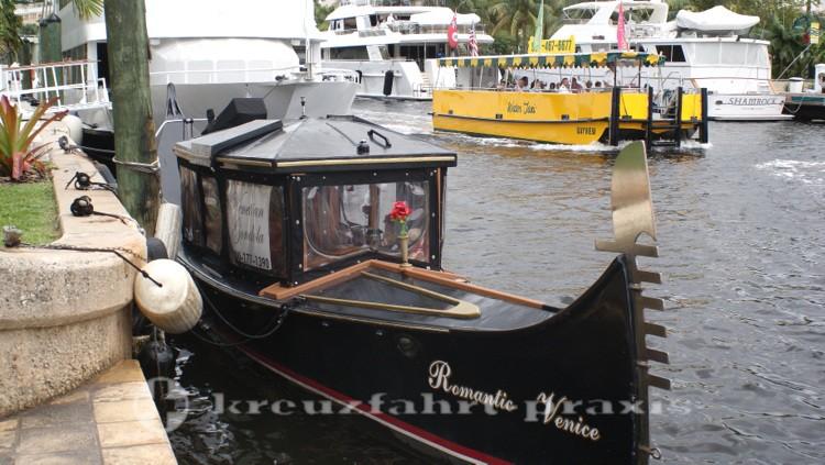 Fort Lauderdale - Die Venetian Gondola