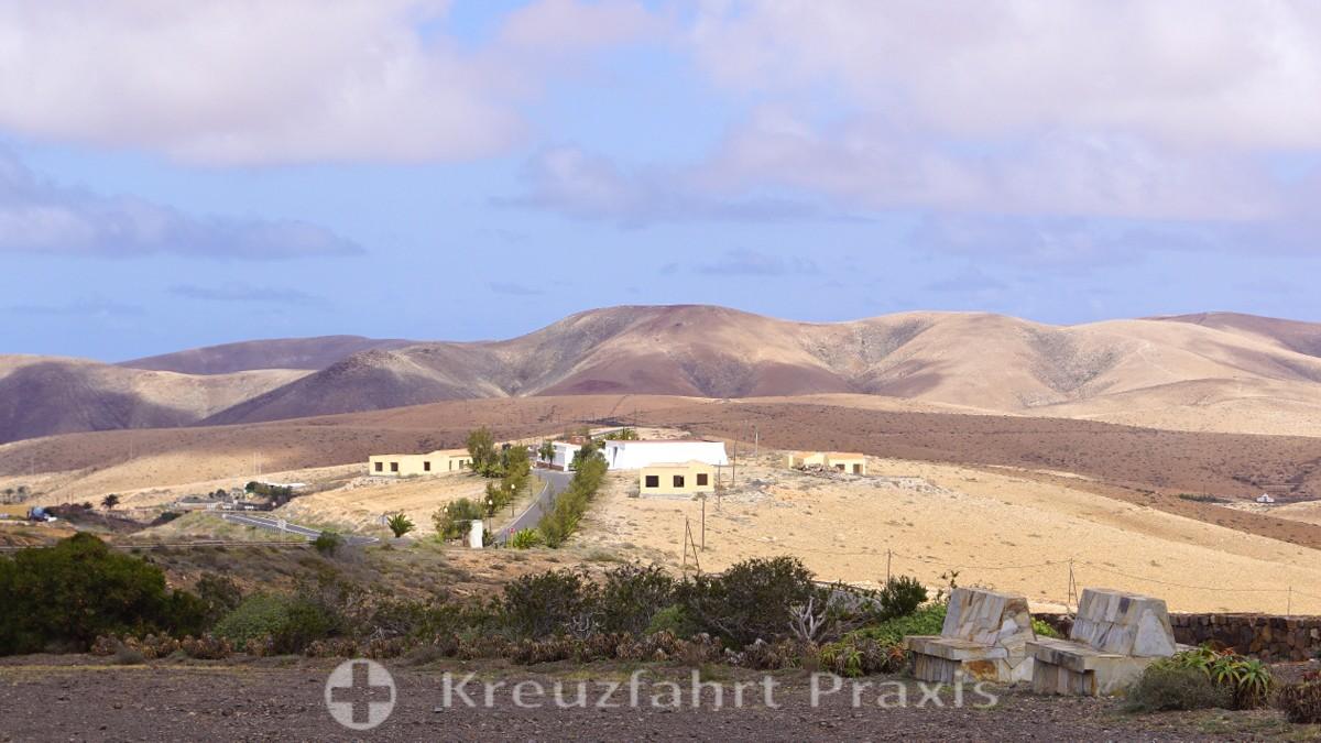Im Norden Fuerteventuras - Blick vom No hay Monumento