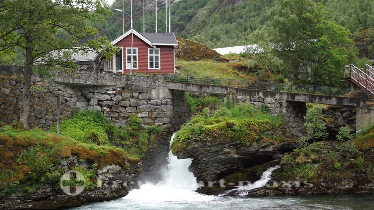 Hütte des Geiranger Fjordcenter