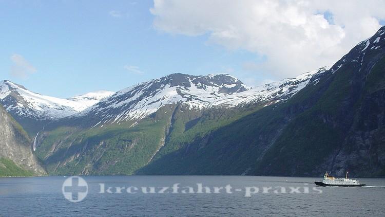 Unterwegs im Geirangerfjord