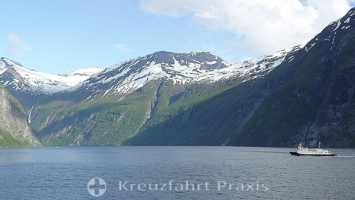 In the Geirangerfjord