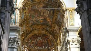 San Lorenzo Cathedral - ceiling fresco