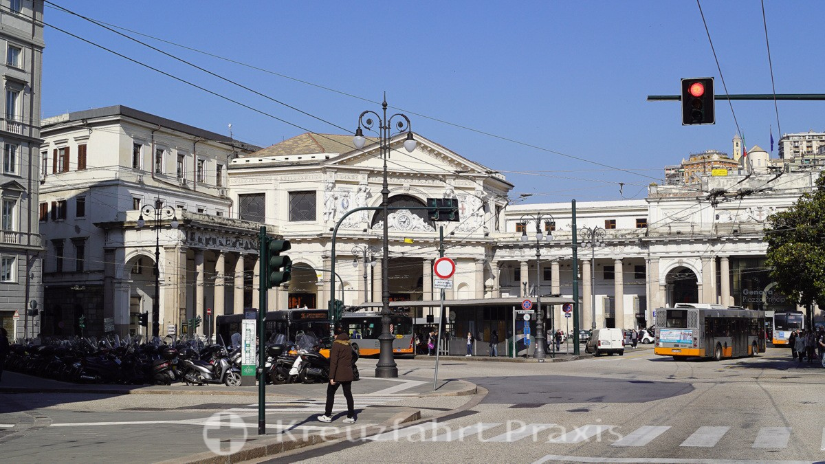 Genoa's train station