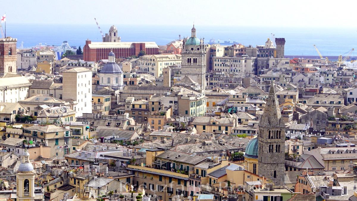 View from Belvedere Luigi Montaldo