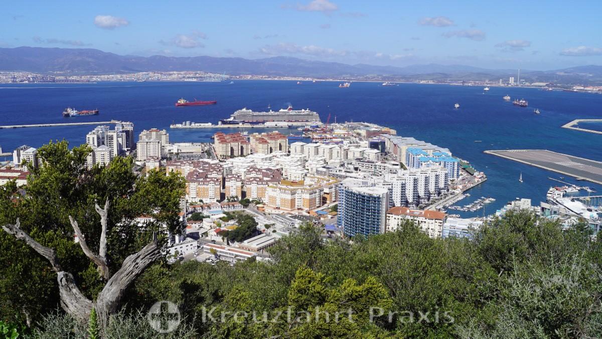 Gibraltar's panorama