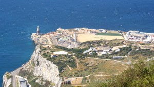 View from O'Hara's Battery towards Europa Point