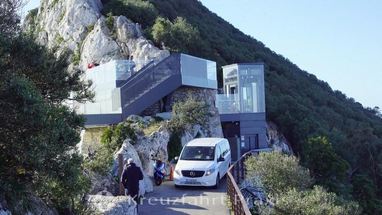 Der Skywalk - Gibraltars neuer Aussichtspunkt