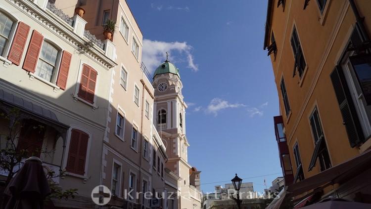 Turm der römisch-katholischen Kathedrale