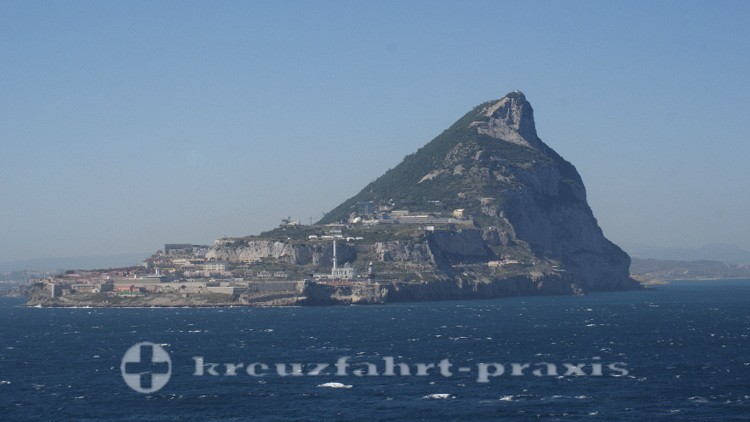 Gibraltar - The Rock - Blick von Süden