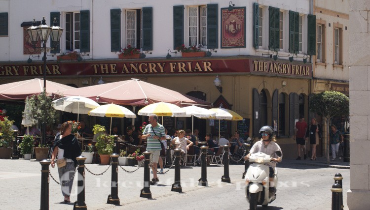 Gibraltar - English Pub - The Angry Friar