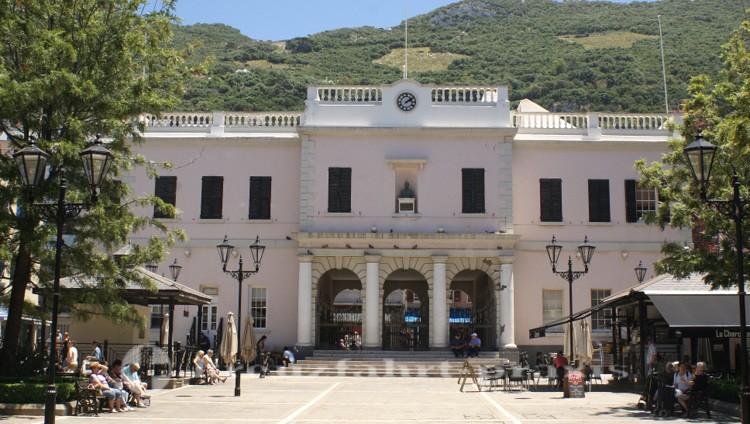 Das Parlamentsgebäude - Rückseite