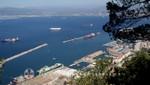 Vor Gibraltar - Schiffe auf Reede