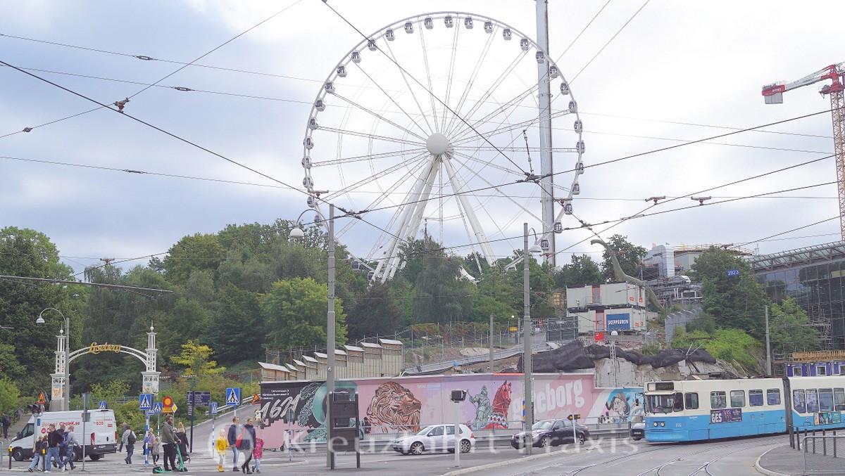 View of Liseberg amusement park