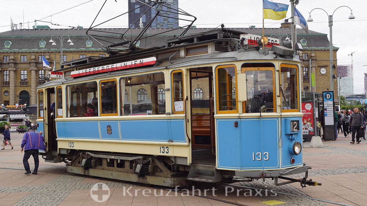 Gothenburg - historic tram Lisebergslinjen