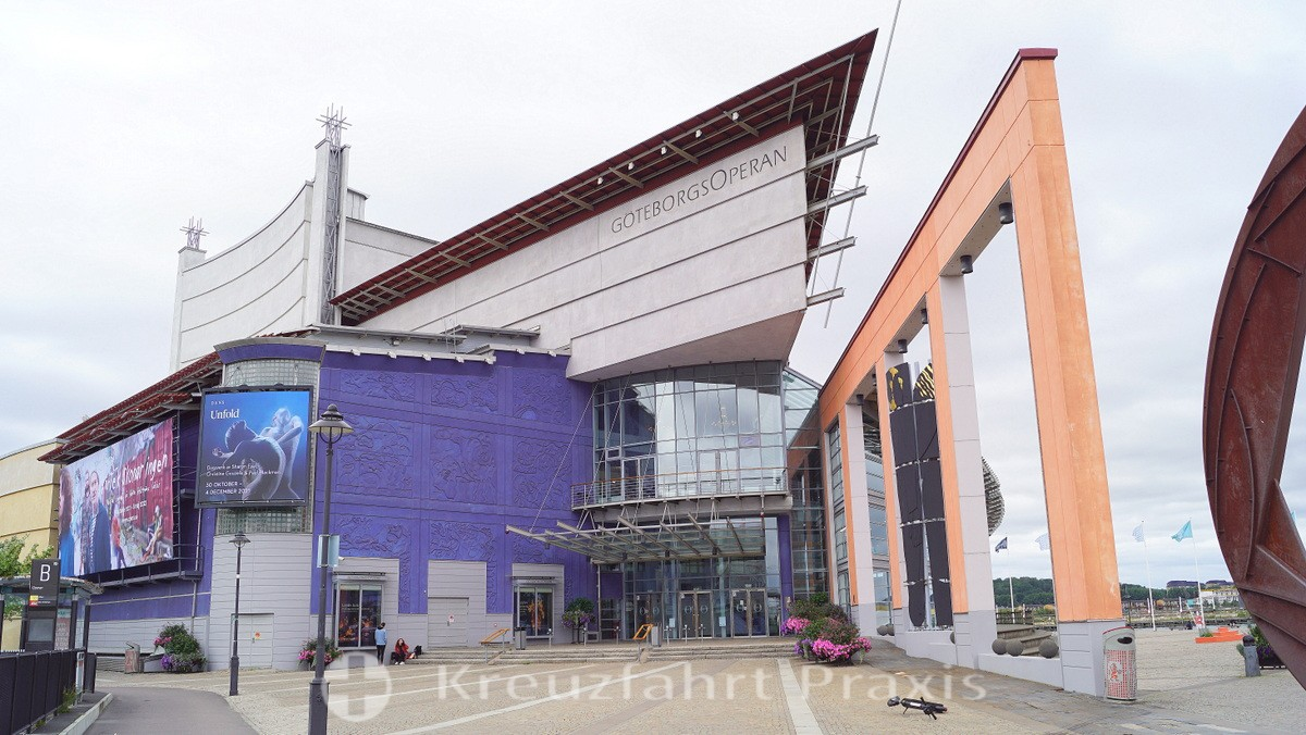 Gothenburg's Opera House - entrance area