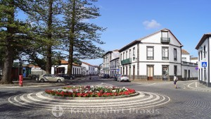 Santa Cruz da Graciosa - town center