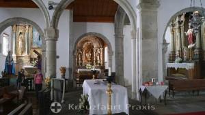 Matriz de Santa Cruz - side altar