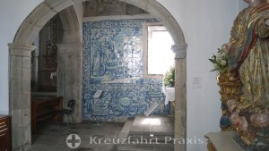 Matriz de Santa Cruz - Azulejos