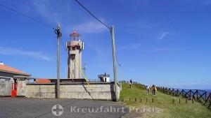 Farol do Carapacho lighthouse on the Ponta da Restinga