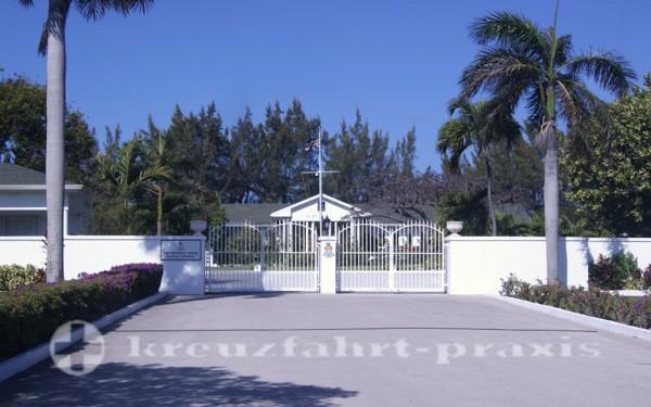 Grand Cayman - Residenz des Gouverneurs