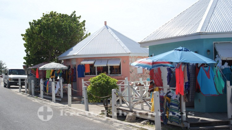 Grand Turk - Front Street in  Cockburn Town