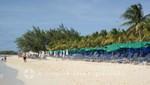Grand Turk - Strand des Cruise Centers