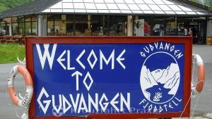 Willkommen in Gudvangen - am Ende des Nærøyfjord