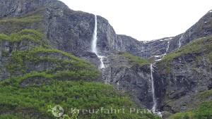 Wasserfälle bei Gudvangen