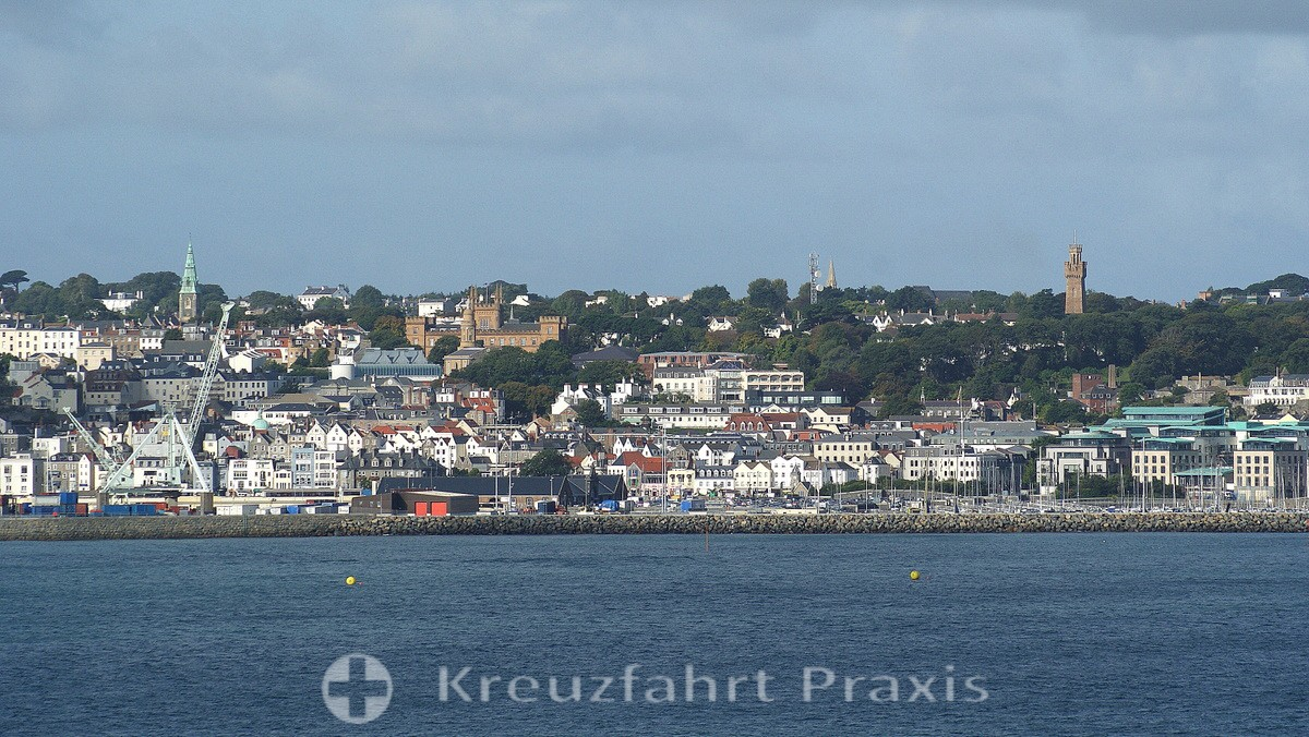 Saint Peter Port - Stadtpanorama