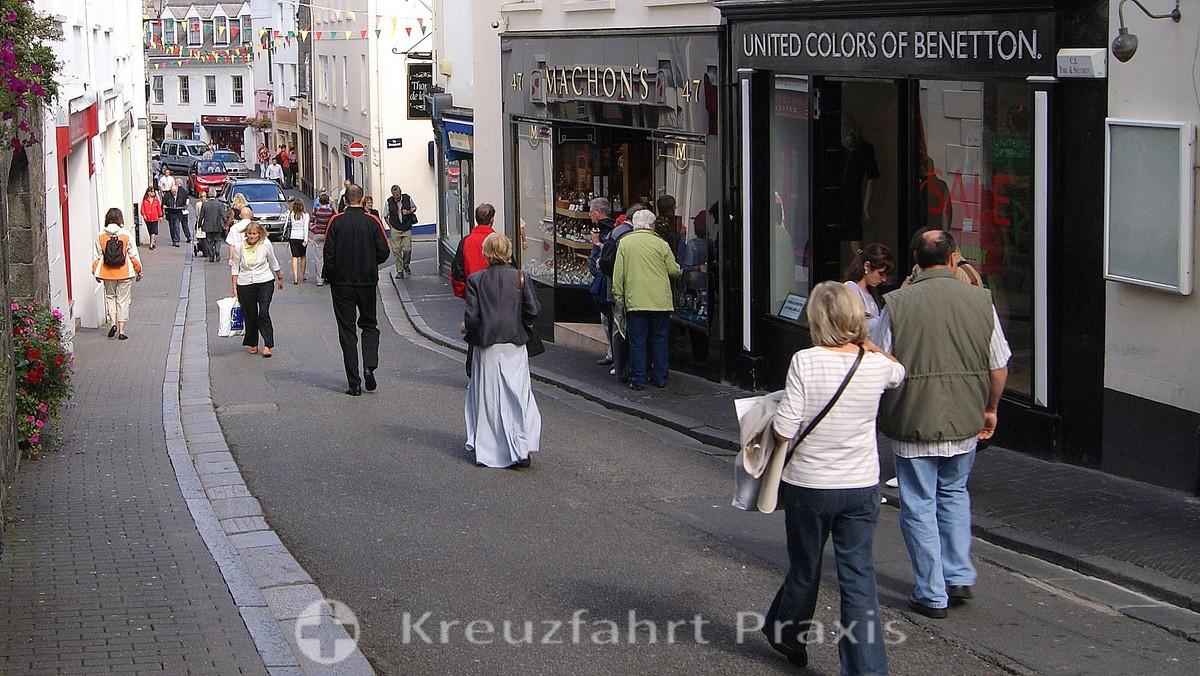 Im Zentrum von Saint Peter Port - Pollet Street