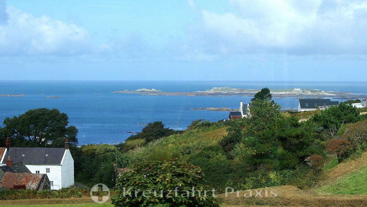 Guernsey - Landschaft bei Pleinmont