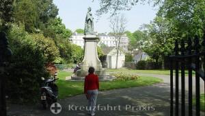 Das Königin Victoria Monument in den Candie Gardens