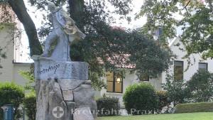 Das Victor Hugo Denkmal
