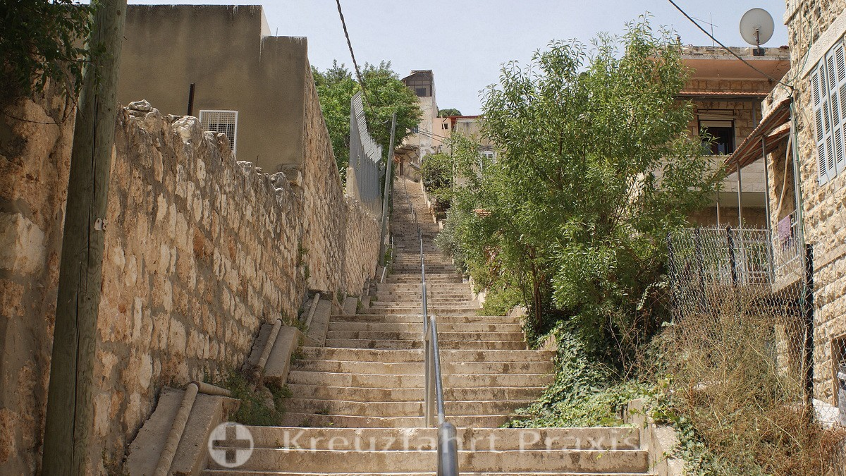 Just one of many - Haifa's stairs