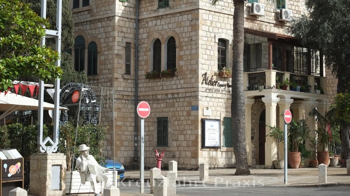 German Settlement - Ben Gurion Avenue