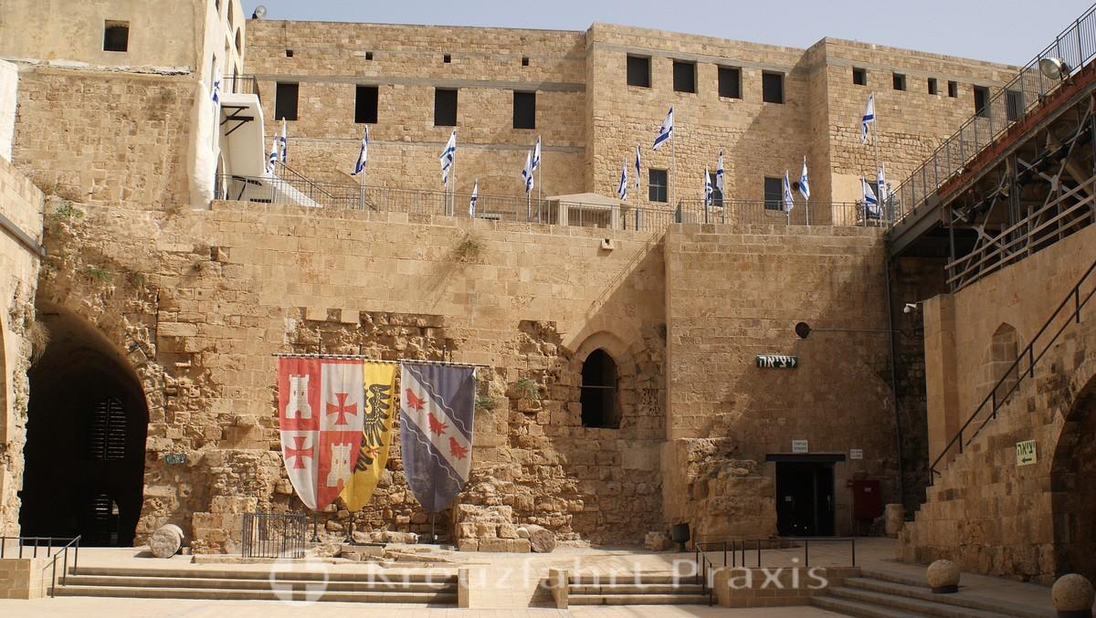 Palace of the Crusaders - Burghof