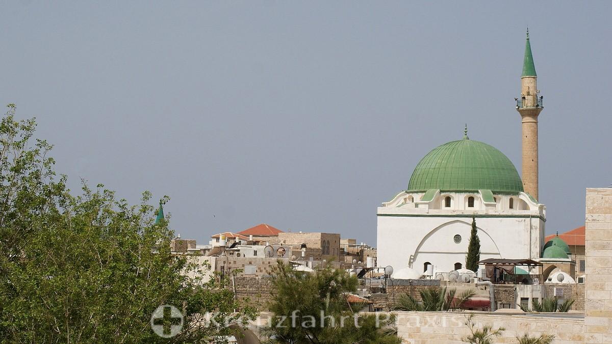 The El Jazzar Mosque in Acre