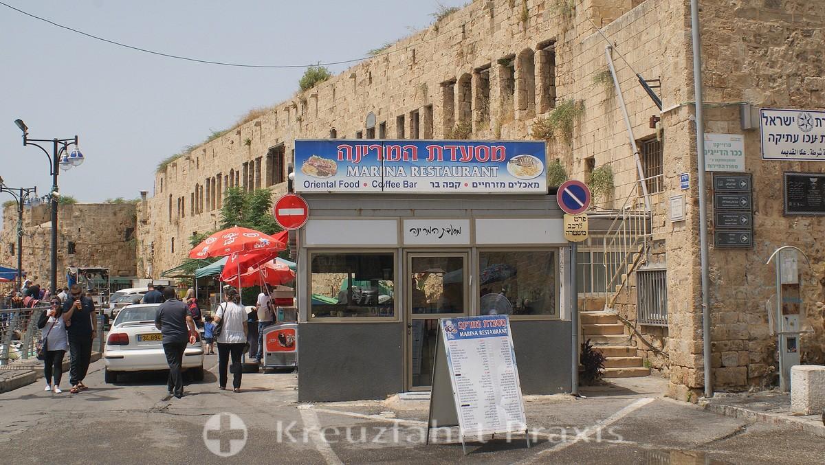 haifa 734 fortress at the harbor